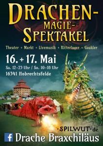 das neue große Drachen - Spektakel im Mai